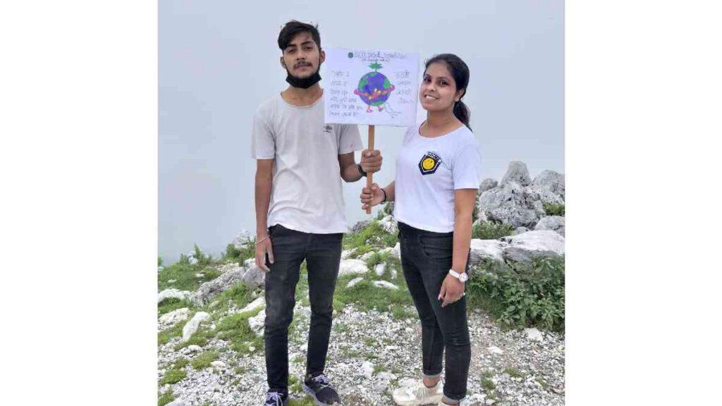 WingedClub Srishti and Rahul's thoughtful act of maintaining health and hygiene!